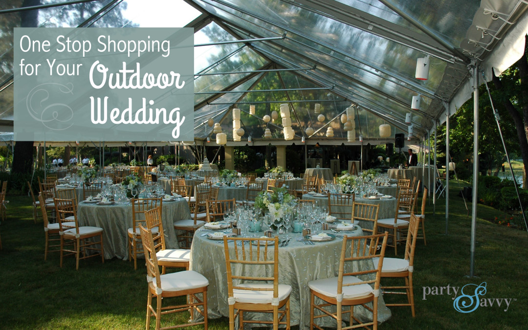 One Stop Shopping For Your Outdoor Wedding