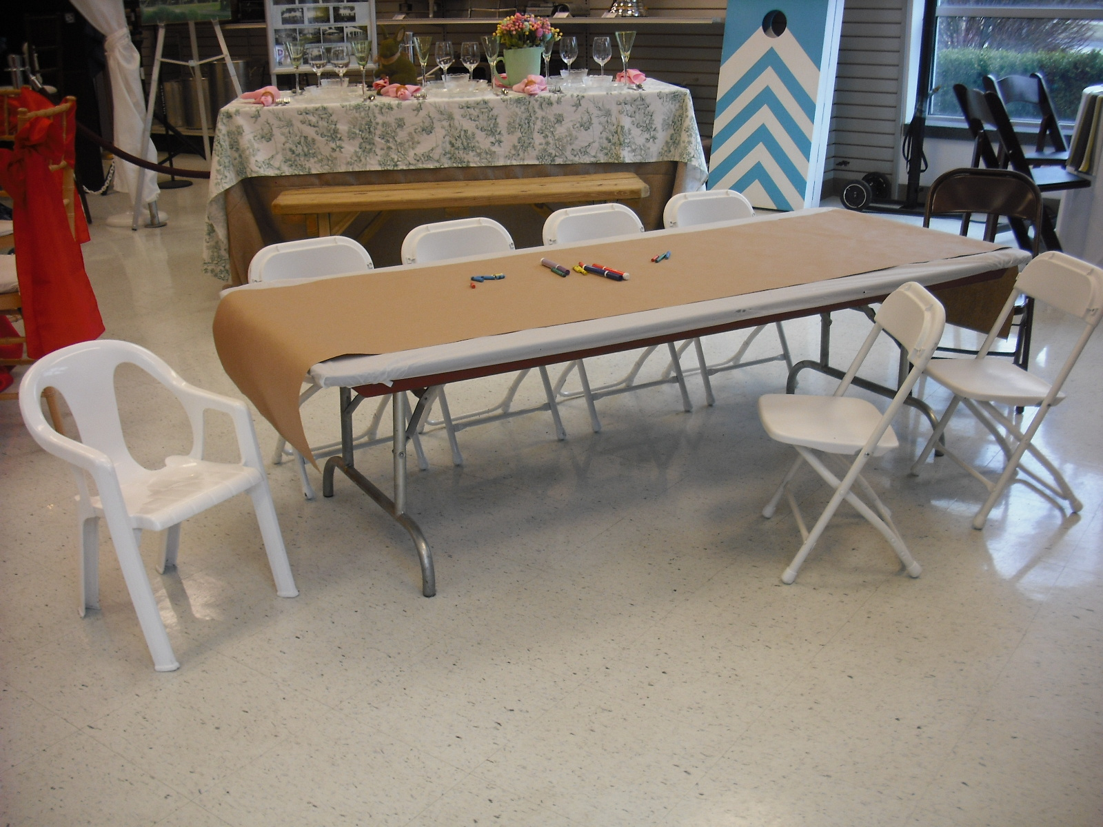 Children s Tables and Chair Rentals