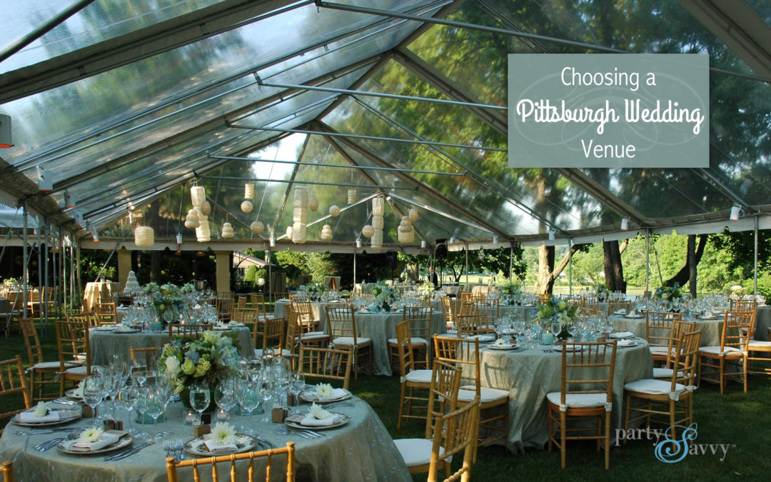 4 things to consider when choosing a pittsburgh wedding venue