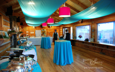 Tented Birthday Party at The Shooting Lodge