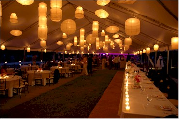 Soft subtle mood with white lights ... & Party Lighting Ideas: 8 Ideas to Wow Your Guests | PartySavvy azcodes.com