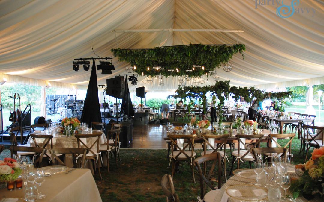 Late September Tented Wedding
