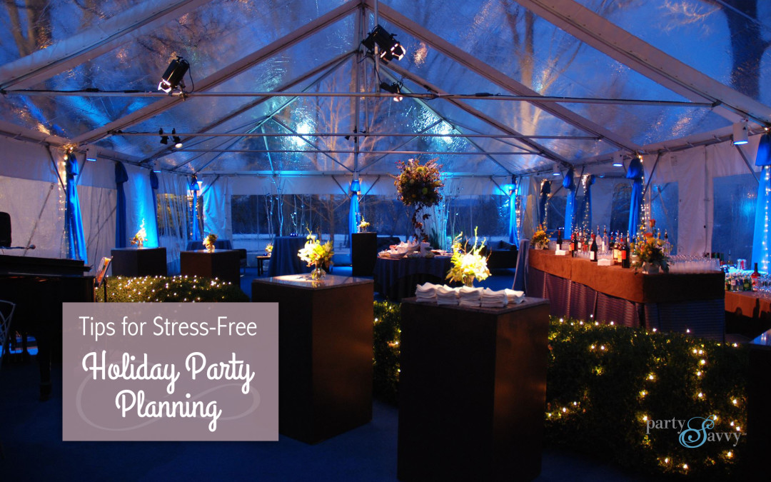 Holiday Party Planning - PartySavvy