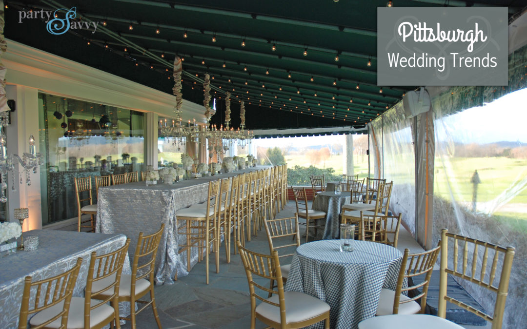 Pittsburgh Wedding Trends Partysavvy Event Rentals