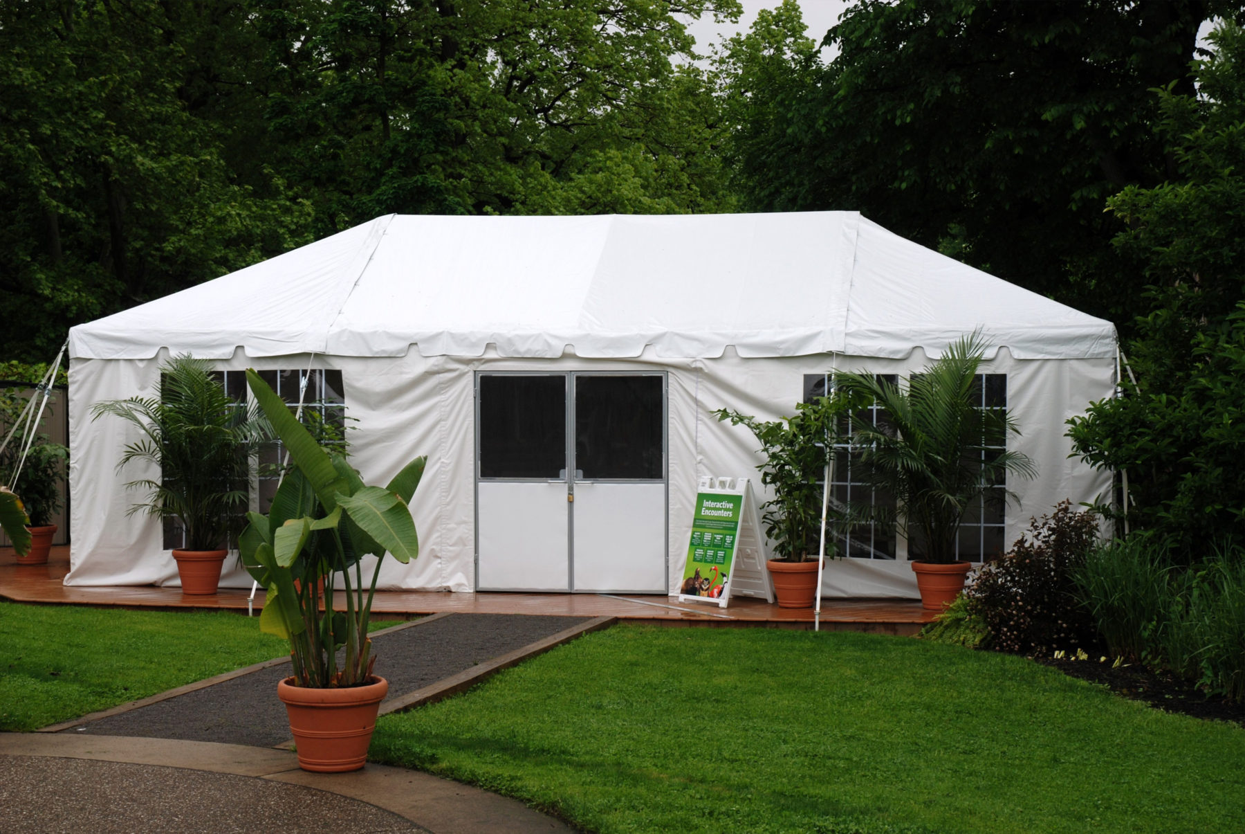 National Aviary Pittsburgh PA & New u0026 Used Tent Sales | PartySavvy Tent Professionals Pittsburgh PA