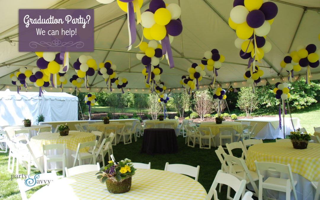 Graduation Party? We can help!