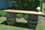 wine barrel bar rental