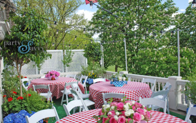 Pittsburgh Golf Club Rooftop Patio Garden Party