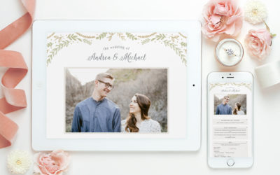 Planning Your Rustic Wedding: Wedding Websites & Invitations