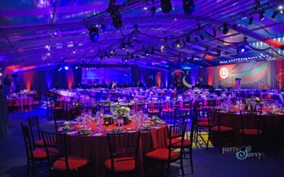 PartySavvy Partners with Carnegie Mellon University to Produce Stunning Large-Scale Tented Event
