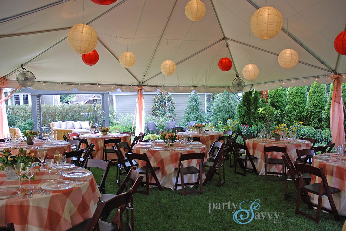 Tent Lighting Rentals, Tent Rentals | PartySavvy